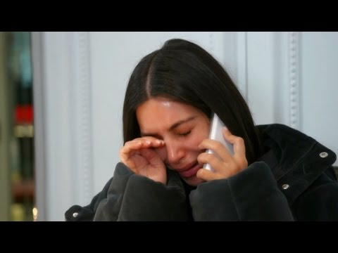 'KUWTK': Kim Kardashian Breaks Down in Tears as Kanye West's Unpredictable Behavior Continues