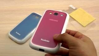 ОБЗОР: TPU Чехол Yoobao для Samsung Galaxy S3 i9300 (+ПЛЕНКА)