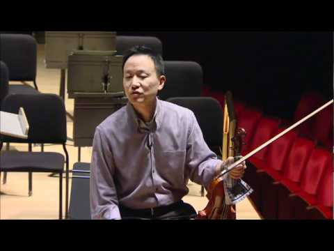 David Kim and Juliette Kang on Bach's Concerto for 2 Violins