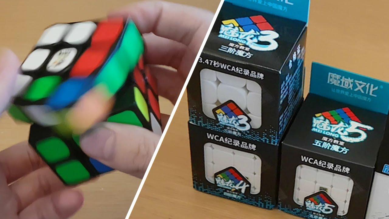 Unboxing the MeiLong Budget Cubes & More! | SpeedCubeShop com