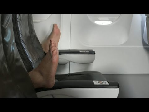 Thumbnail: Woman on Airplane Says She Watched Passenger Open Window With Bare Feet