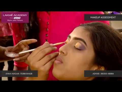 Eye Shadow Makeup Training | Lakme Academy Chennai