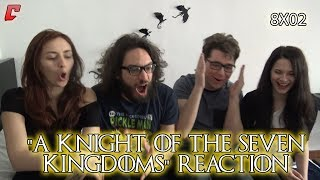 "Game of Thrones 8x02 ""A Knight of the Seven Kingdoms"" Reaction w/Victorlaszlo88 Parte 1"