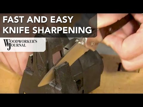 How to Sharpen Knives with the Work Sharp Knife and Tool Sharpener