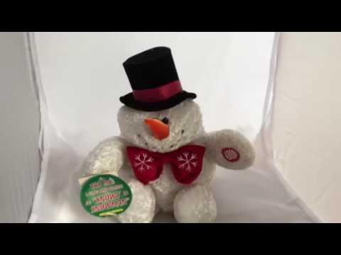 Dan Dee Collector's Choice Animated Plush Snowman Sings Snowy Snowman