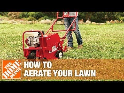 How To Aerate Your Lawn - The Home Depot