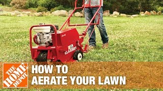 Lawn Aerator - How To Aerate Your Lawn | The Home Depot