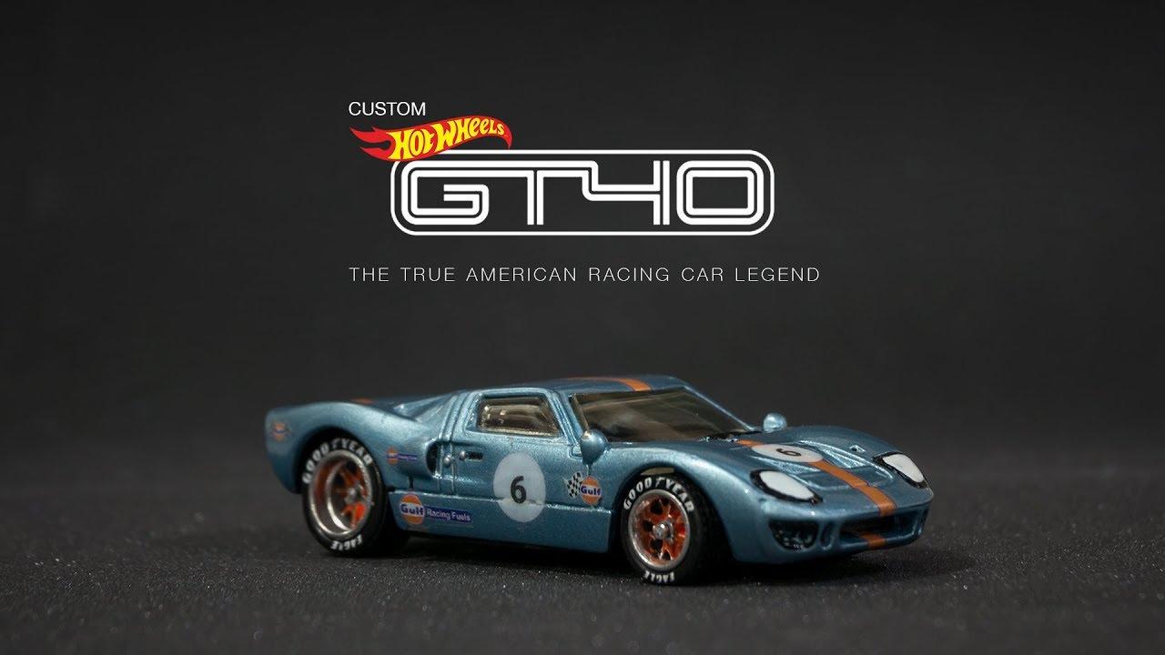 Hot Wheels Ford GT-40 Gulf Race Car NEW