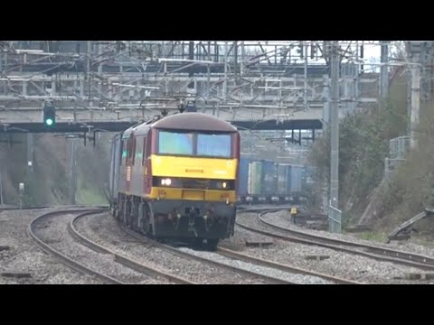 Unseen Freight  + Light Engine Workings - March & Early April 2018