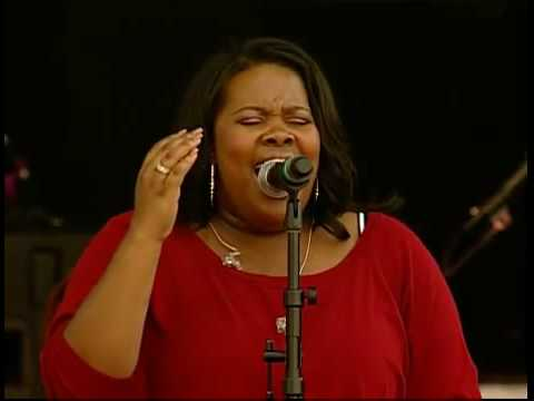 Amber Riley - Home at White House
