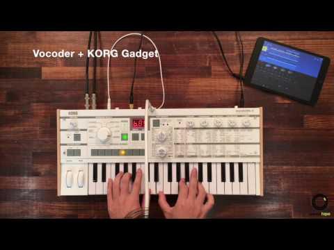 KORG microKORG S #2   Vocoder with KORG Gadget