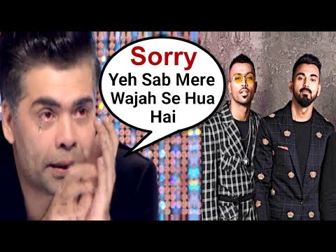 Karan Johar Apologises For Hardik Pandya And KL Rahul Koffee With Karan Controversy
