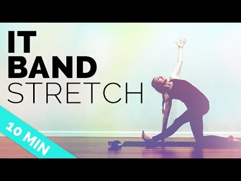 IT Band Stretches Quick Yoga Flow For Your Hips 10 Min Yoga