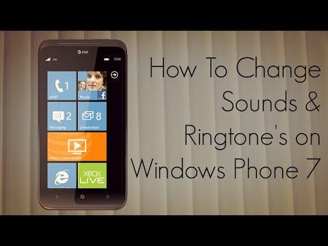 How to Change Sounds & Ringtone's on Windows Phone 7 - PhoneRadar