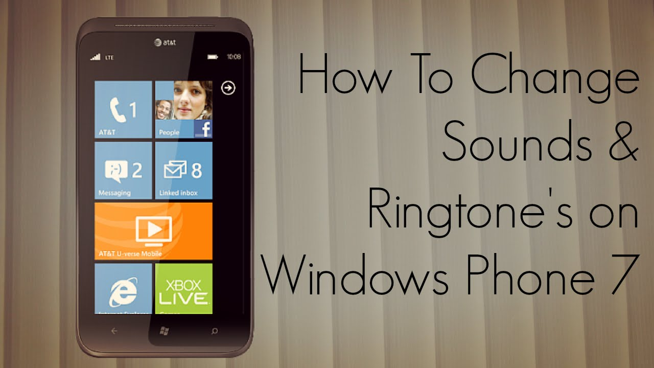 add ringtones to your windows phone 7