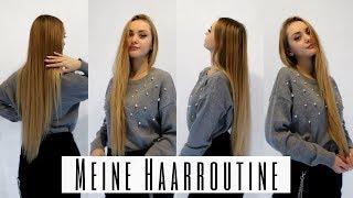 Meine HAARROUTINE + Tipps um schnell lange Haare zu bekommen | SelinaViia