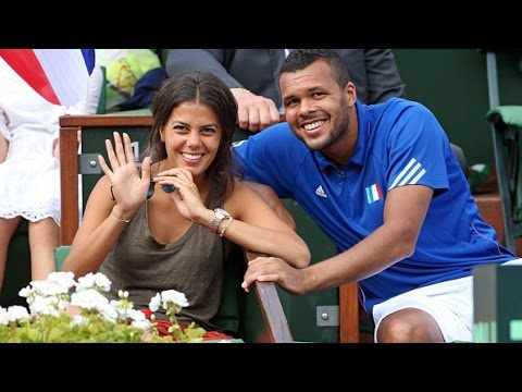 Jo Wilfried Tsonga And Longtime Girlfriend Noura El Shwekh To Be Parents