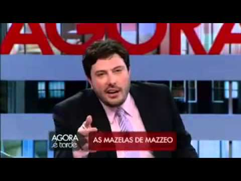 Agora é Tarde Esculaxa Bruno Mazzeo (Mesa Vermelha Com Rogério Morgado)