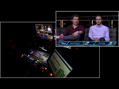 Esports BTS Technical Director Multicam View