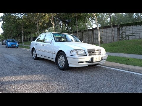 2000 Mercedes-Benz C 200 Elegance Start-Up and Full Vehicle Tour
