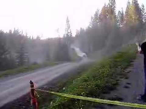 2008 Mountain Trials Rally - Trinder Jump