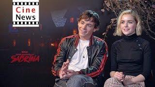 The Chilling Adventures of Sabrina – Interview: Kiernan Shipka & Ross Lynch