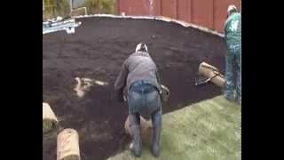 Укладка рулонного газона на крыше 5(, 2014-10-07T17:50:44.000Z)