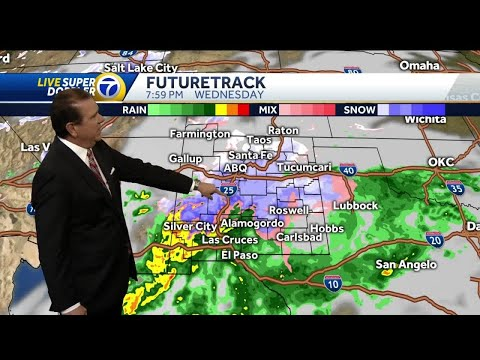 Winter Weather Impacting Parts Of NM