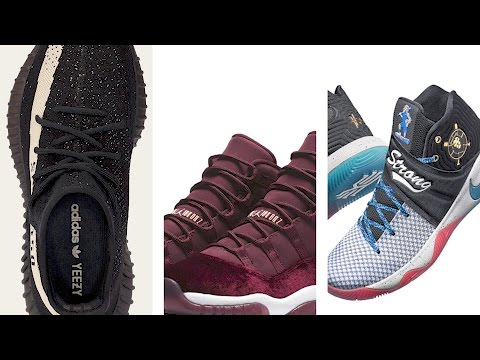 """yeezy-350-v2-""""core-white"""",-nike-kyrie-2-db,-jordan-11-""""heiress""""-and-more-on-heat-check"""