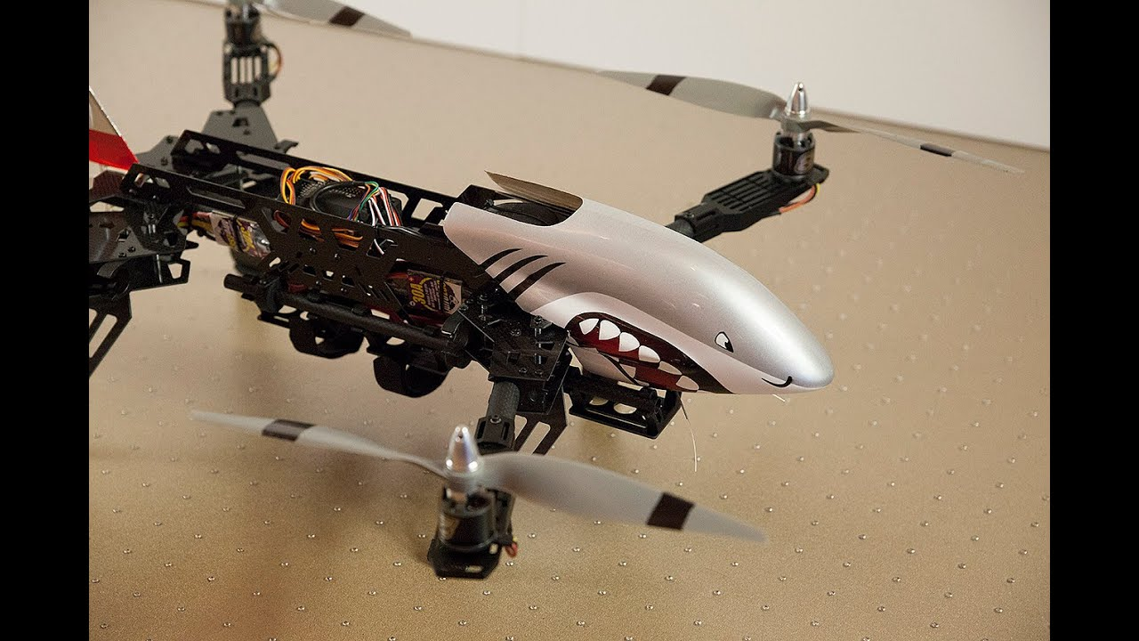 DutchRC - HK Predator 650 quadcopter - Full review! Recommended ...