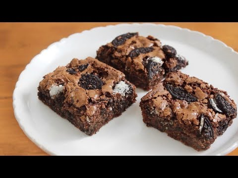 Oreo Brownies | SweetTreats