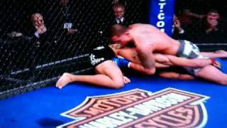 "Anthony ""Showtime"" Pettis Running Cage Kick"