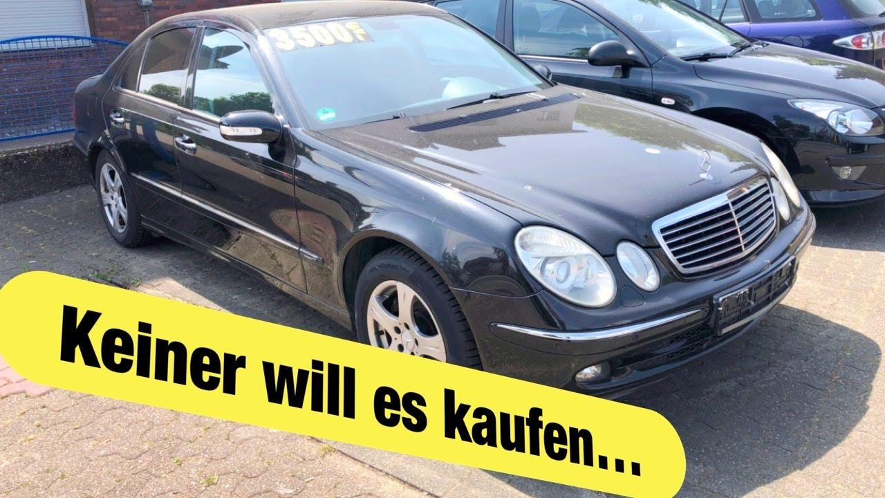 Download Wieso kauft dieses Auto niemand?? Mercedes w211 E220CDI //Simon Automobile//