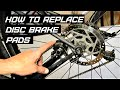 How to replace Shimano disc brake pads