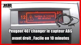 Peugeot 407 / Changer le capteur ABS  / On Bricole #13 / Wish