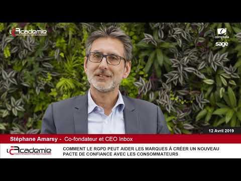 Les Entretiens de l'Académie  : Stéphane Amarsy
