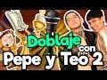 FANDUB (Doblaje La Bella Y La Bestia) Con Pepe Y Teo/ Memo Aponte