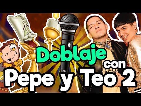 FANDUB Doblaje La Bella y la Bestia con Pepe y Teo Memo Aponte