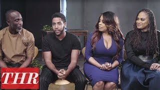 Ava_DuVernay,_Niecy_Nash,_Michael_K._Williams_&_Jharrel_Jerome_Talk_'When_They_See_Us'_|_THR