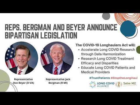 Nearly $100M in Long COVID Funding Introduced in Congress...