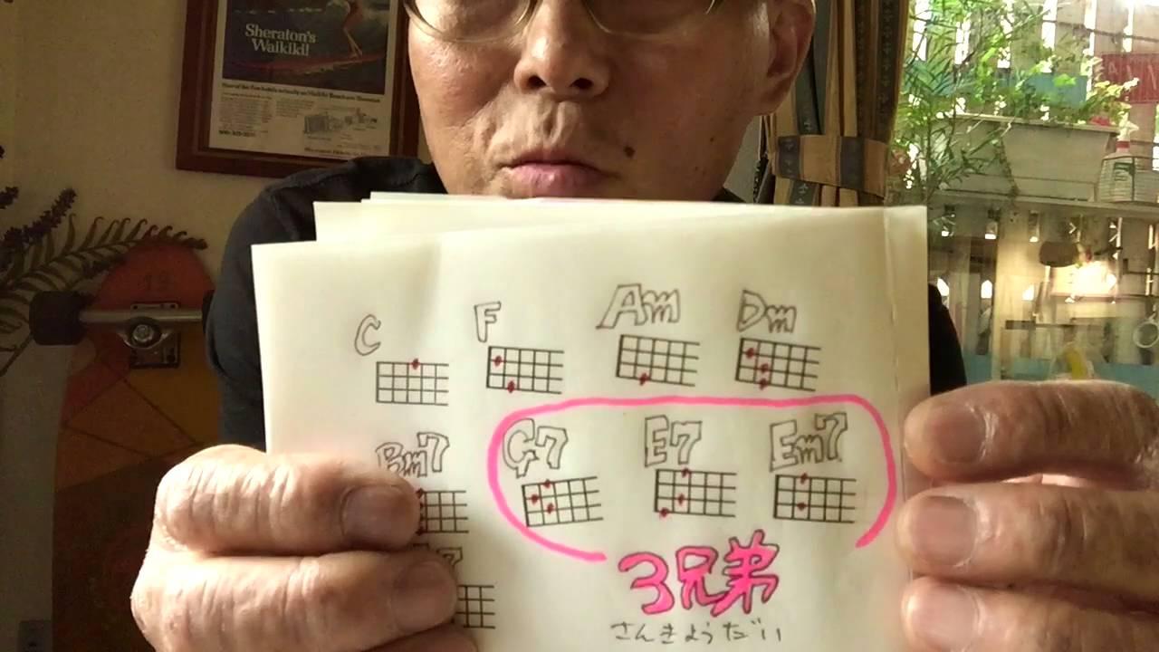 少年時代・井上陽水 / ウクレレ 超かんたん版 【コード&レッスン付】GAZZLELE