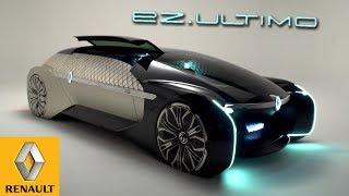 Renault EZ-Ultimo Autonomous Concept Car | Exterior, Interior