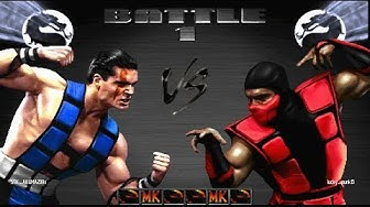 Ultimate Mortal Kombat 3: Online Matches Vs. lucky_punk13 #2 (PS3) (1080p 60fps)