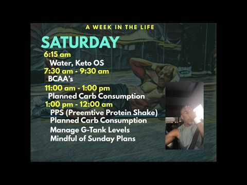 A Day in the Life..My Daily Schedule- Saturday