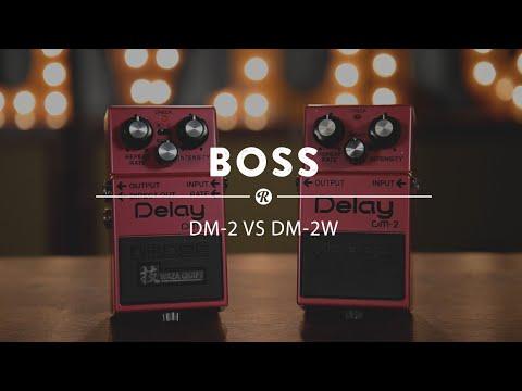 Boss DM-2 (Original) vs DM-2W Waza Craft Analog Delay