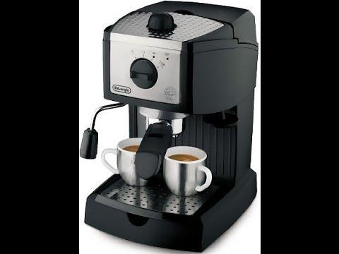 обзор Кофеварка эспрессо DELONGHI EC 155 #6