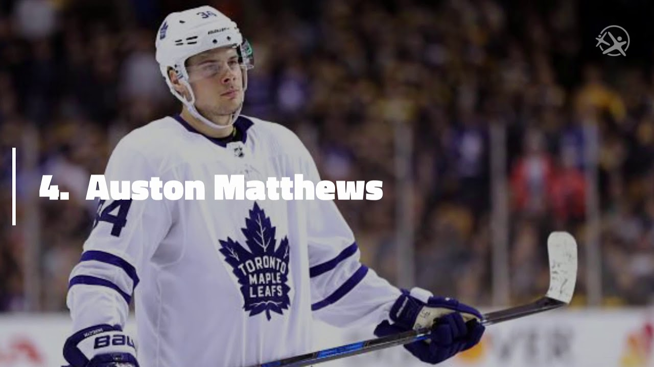 LatinoAthlete Auston Matthews Ranked 4th by NHL