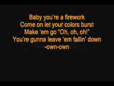 Katy Perry FireWork  Lyrics