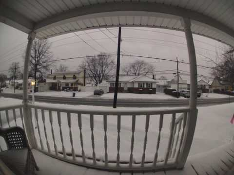 March 14, 2017 Winter Storm Time-lapse (West Islip, New York)