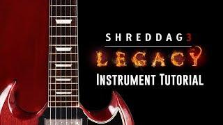 Shreddage 3 LEGACY - Instrument Walkthrough (Kontakt Player, VST, AU, AAX)
